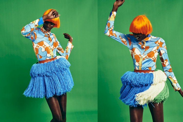 WHAT /IS/ LUXURY ? RICH MNISI'S NEW R60,000 XIBELANI SKIRT SPARKS THE CONVERSATION ON LUXURY WEAR