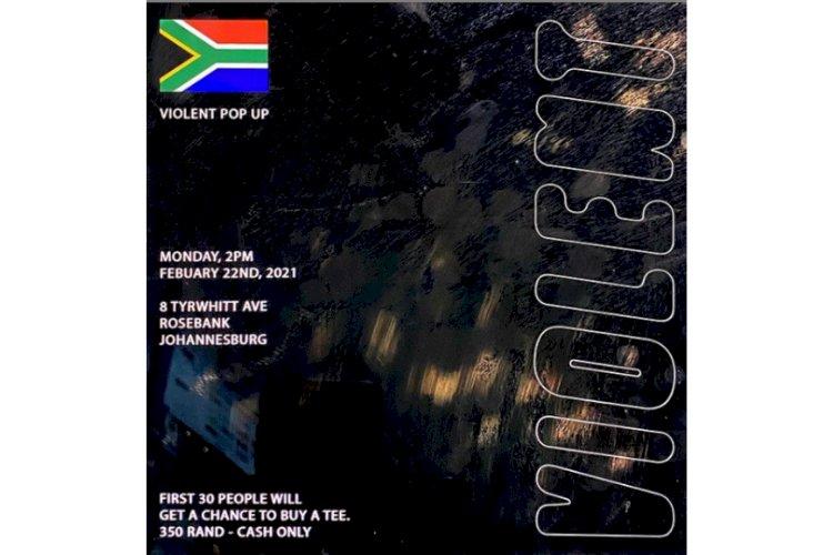 ICYKOF BRINGS ''VIOLENT'' POP UP TO JOHANNESBURG