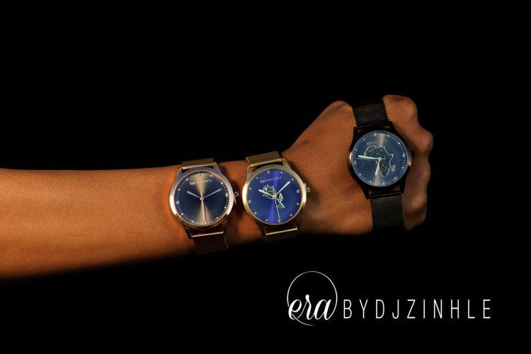 DJ ZINHLE DROPS A NEW LINE WATCHES