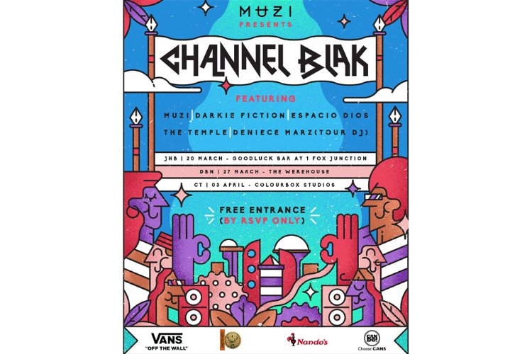 MUZI ANNOUNCES CHANNEL BLAK